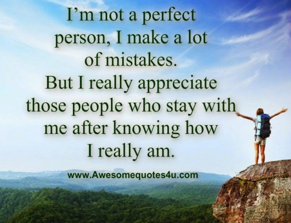 i'm not a perfect person