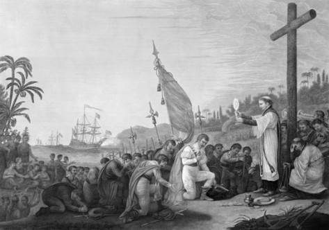 Columbus at Mass