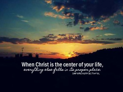Christ is the Center